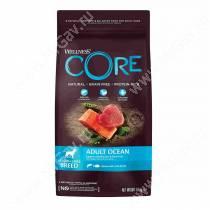 Wellness Core для взрослых собак средних и крупных пород из лосося с тунцом, 1,8 кг
