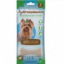 Зубочистики Кальциевые для собак мелких пород, 7 шт.*60 г