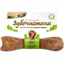 Зубочистики Косточка со вкусом говядины для собак средних пород, 95 г