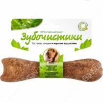 Зубочистики Косточка со вкусом морских водорослей для собак средних пород, 95 г