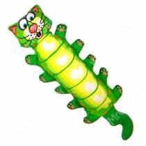 Зверушка с хрустящей бутылкой внутри Fat Cat Water Bottle Crunchers Dog Toy, большой кот